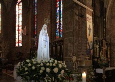 Czuwanie w Katedrze w 100-tną rocznicę objawień Matki Bożej Fatimskiej
